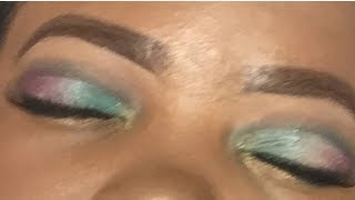 Pink and Blue Makeup Tutorial Spring Vibes
