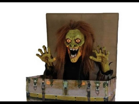 spirit halloween 2017 seasonal visions rising boogeyman leaked video - Spirit Halloween Animatronics