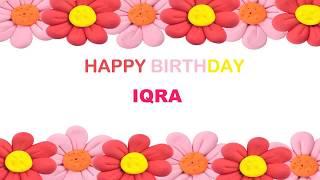 Iqra   Birthday Postcards & Postales - Happy Birthday