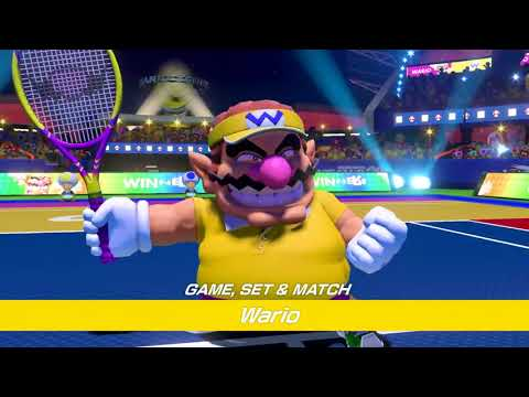 Mario Tennis Aces - Video