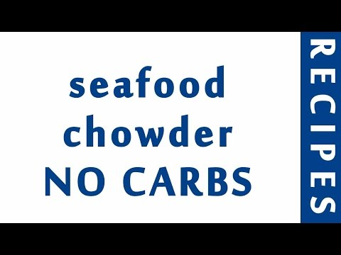 Seafood Chowder NO CARBS | Easy Low Carb Recipes | DIET RECIPES | RECIPES LIBRARY
