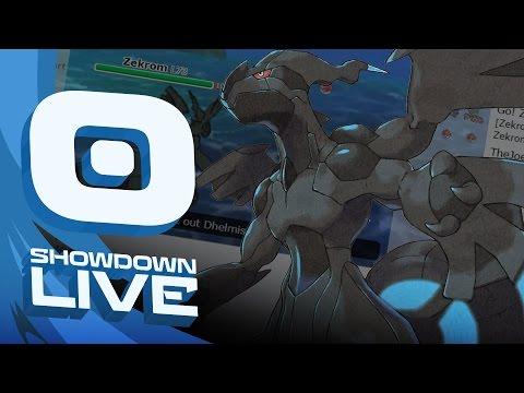 "Pokemon Sun and Moon! FT5 Showdown Live w/PokeaimMD & Key ""MONOTYPE RANDOM"""