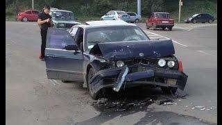 Аварии ДТП БМВ BMW 2015   Плевать они хотели на ПДД