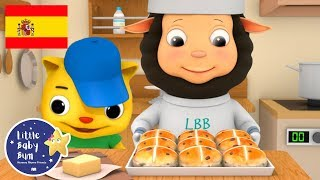 Canciones Infantiles | Bollos de Pascua | Dibujos Animados | Little Baby Bum en Español