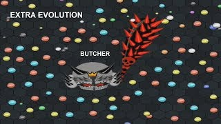 EvoWars.io BUTCHER EXTRA EVOLUTION Score: 50,000