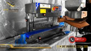 Low Budget Granules &  Powder Packing Machine |  Band Sealing Machine | Coffee Beans Filling Machine