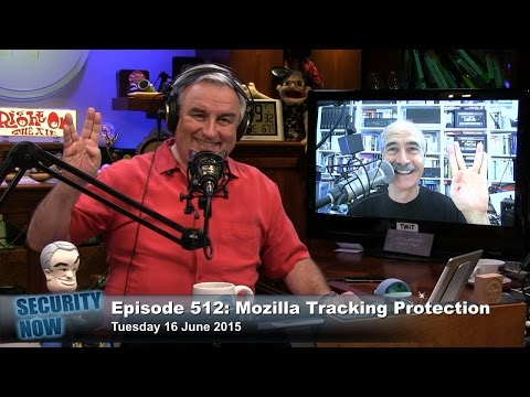 Security Now 512: Mozilla Tracking Protection