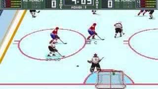 Brett Hull Hockey 95 PC - Gameplay part 1 of 2