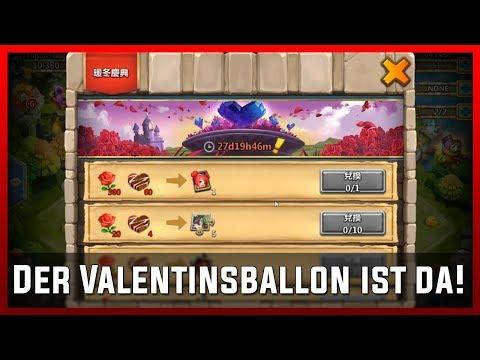 Der Valentinsballon Ist Da! | Castle Clash