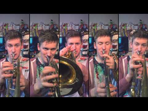 avril-lavigne---sk8er-boi-for-brass-quintet-and-drums-with-sheet-music