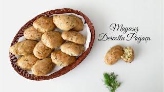 Mayasız Dereotlu Poğaça - Pratik Tarifler / Yemek Tarifleri - Melis'in Mutfağı