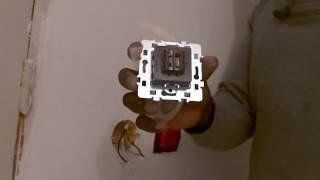 Branchement, câblage d'un volet électrique