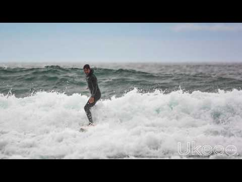 Prime Minister Justin Trudeau Surfing Long Beach