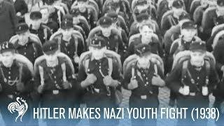 Hitler Youth Made to Fight Each Other