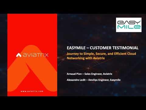 Comment Easymile simplifie le déploiement et la gestion du réseau de son infrastructure Cloud
