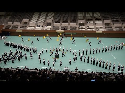 TONAN Marching Band The Gryphons  Winter Marching Party in KYOTO 2016