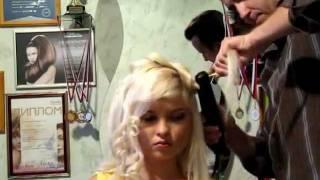 видео Окрашивание волос на дому в Москве Салон-дома.рф