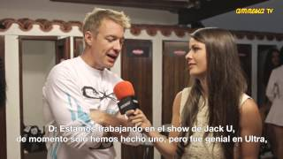 Interview Diplo @ AmnesiaTV 2014