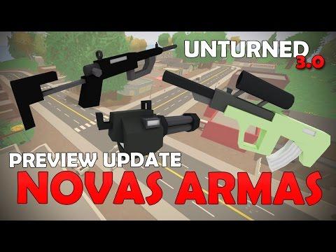Unturned Preview - Novas Armas!