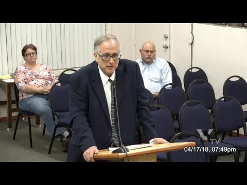 Cottonwood City Council Regular Meeting April 17th 2018