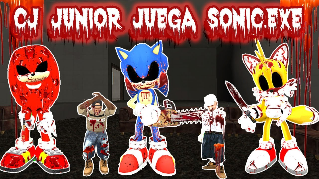 Cj Junior Juega Sonic Exe Loquendo Gta San Andreas
