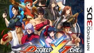 CGR Undertow - PROJECT X ZONE review for Nintendo 3DS