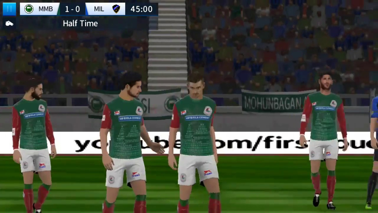 Dream League Soccer|| Mohunbagan AC vs Imilan|| Messi hattrick||First guess  the result comment it ||