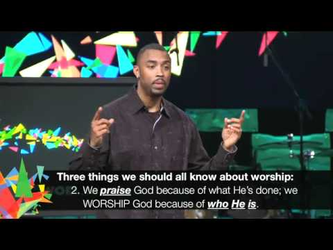 The Power of Music - Montell Jordan Sermon at Victory World Church (Norcross, GA)