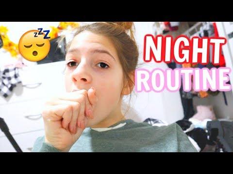 NIGHT ROUTINE BEFORE TRAVELING ON AN INTERNATIONAL FLIGHT!!
