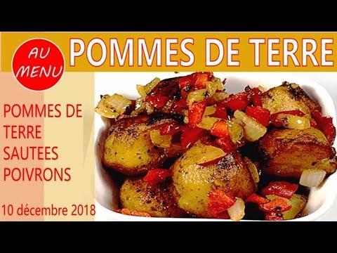 【**-pommes-de-terre-sautees-**】oignons-poivrons-recette-facile-pas-chere-#vc0010-#vs00078-#au010101