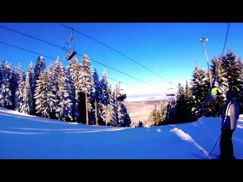 Borovets skiing Saturday 21st Jan 2017