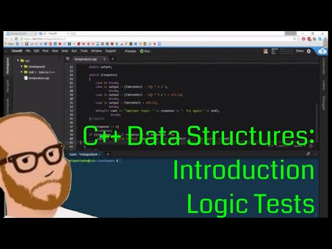 Data Structures in C++ - Intro to C++ - Day 3 - Logic Tests