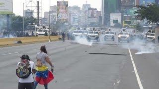 Video: Mirá los incidentes por las marchas con tres muertos en Venezuela