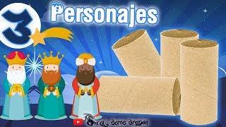 3 Manualidades con tubos de cartón / Los Reyes magos