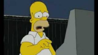 The Simpsons - Episode 424 (Episode 4 of Season 20) -  Homer Simpson tries to vote for Obama