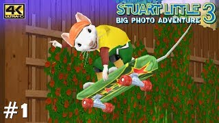 Stuart Little 3: Big Photo Adventure - PS2 Gameplay Playthrough 4k 2160p (PCSX2) PART 1 (Garden)