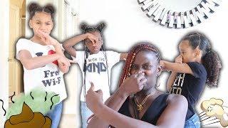 You Stink Prank On YaYa Panton & Pierre Sisters (GETS HEATED)