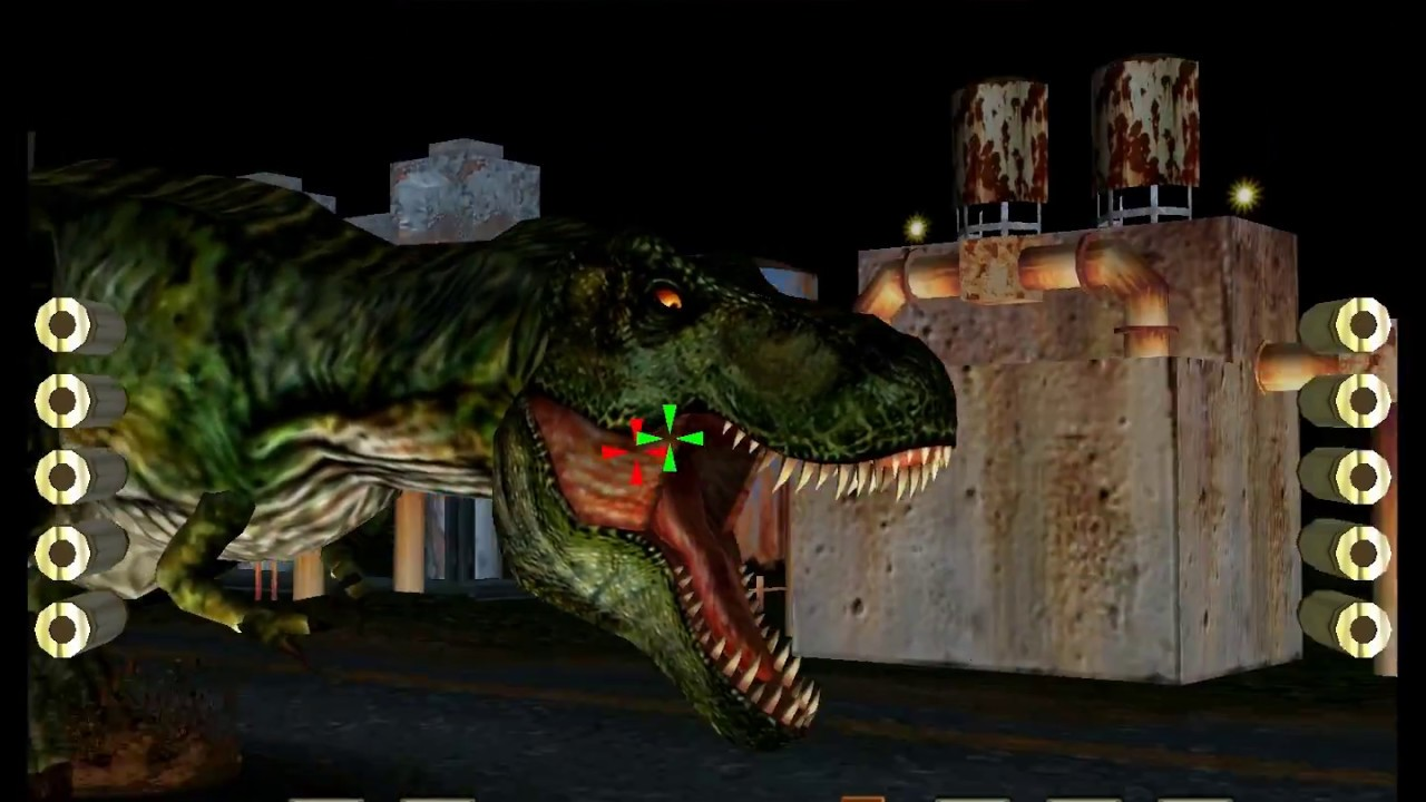 The Lost World Jurassic Park Arcade 2 Player 60fps Youtube Prime 1 Studio Tyrannosaurus Rex 1993 15