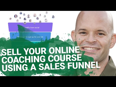 How to Sell Online Coaching Courses Using a Sales Funnel | GetResponse Autofunnel