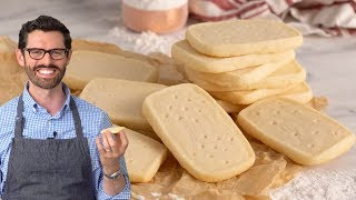 Easy and Delicious Shortbread Cookies