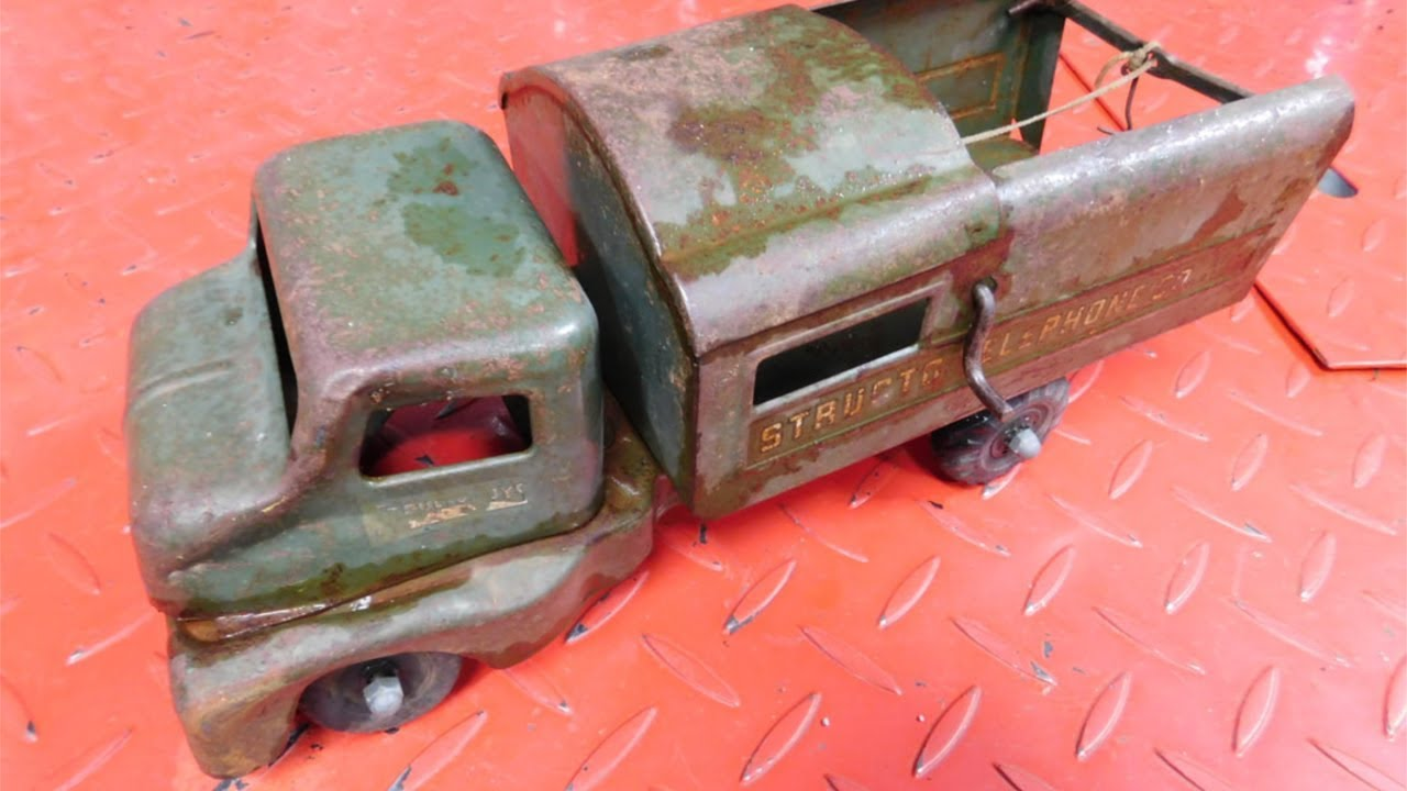 Vintage Toy Train Restoration - It Happens To All Of  Depo120Com-5427