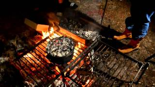 Camp Fire Cooking: Shutup! I