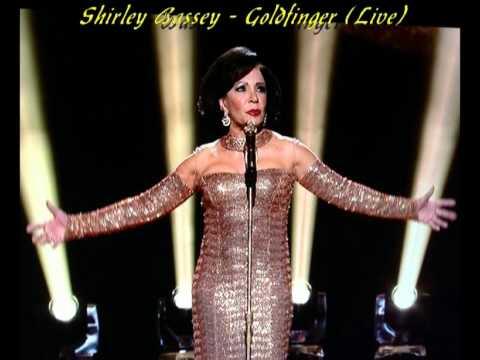 Shirley Bassey   goldfinger Live