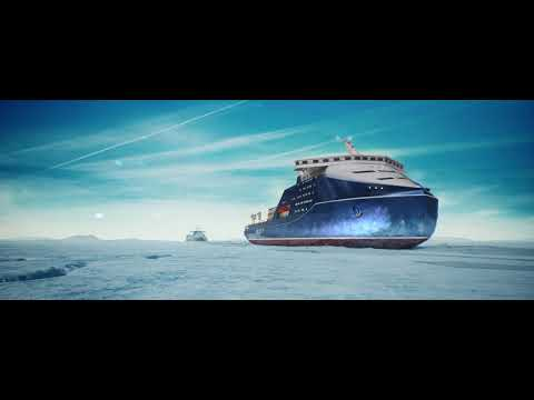 """Leader"": World's Biggest, Most Powerful Icebreaker From Russia"