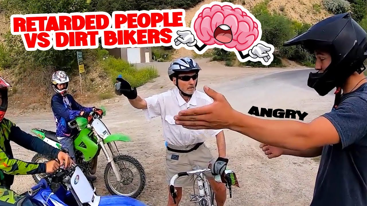 Stupid, Angry People Vs Dirt Bikers 2021 - Angry Man Hates Motorcycles