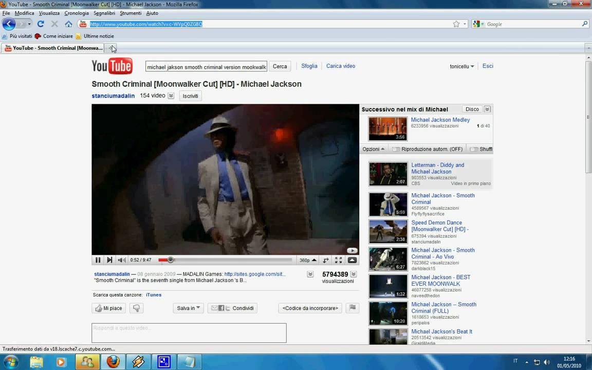 Scaricare video da youtube in avi
