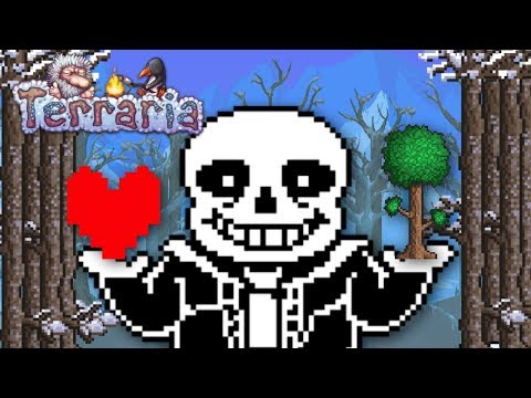 Terraria | SANS FIGHT IN THE GAME!! | TerraTale