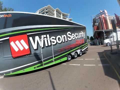 V8 Transporter Convoy_Darwin 2012