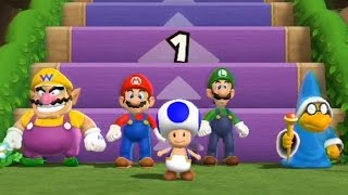 Mario Party 9 - Step It Up (7 Wins, Free-for-All Minigames)