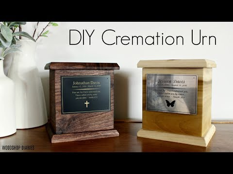 How To Make A DIY Cremation Urn